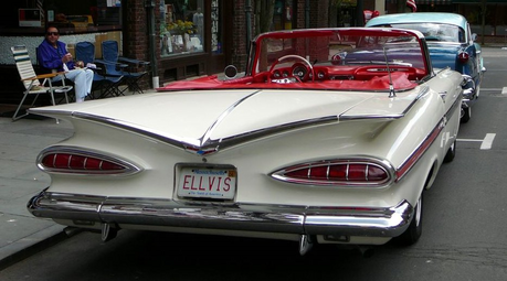 Vinyl would drive a '59 Chevy Impala. What car would Soarin' have?