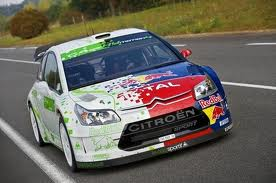 Soarin would drive a Citroen C4 Rally car. What would Spitfire have?