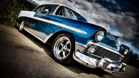 He'd drive a '58 Chevy Bel Air. What would Lotus drive? (one of the Spa ponies)