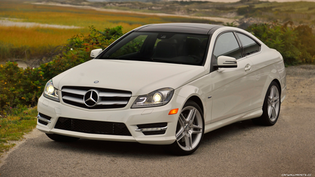 Aloe would drive a Mercedes-Benz C350 Coupe. What would Dashie's father drive?
