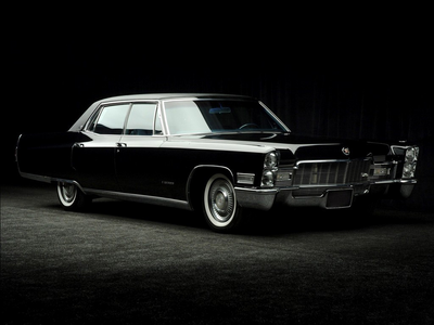 The changelings would drive a '68 Cadillac Fleetwood. What would Lightning Dust have?