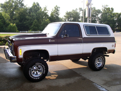 She'd have a '79 Chevy Blazer. What would Nightmare Rarity drive?