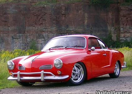 He'd have a '63 VW Karmann-Ghia. What would Vinyl Scratch have?