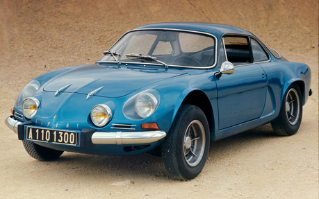 Colgate would drive a '61 Renault Alpine A110. What would Lyra have?