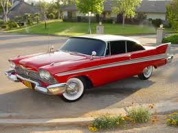 Lyra would drive a 1958 Plymouth Belvedere. What would bonbon have?