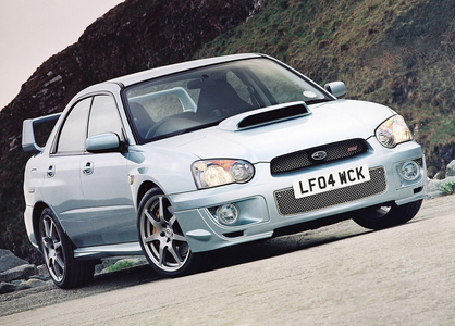 She'd drive a 2004 Subaru Impreza WRX STI. What would Octavia have?