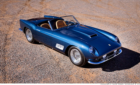 Gilda would drive a '58 Ferrari GT-250 Spider. What car would Flitter have?