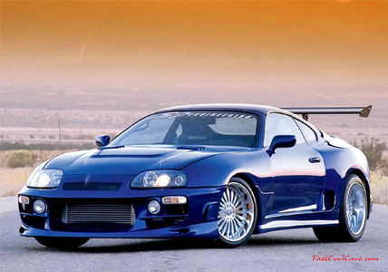 Snowdrop would drive a 2000 Toyota Supra. What would Button drive?