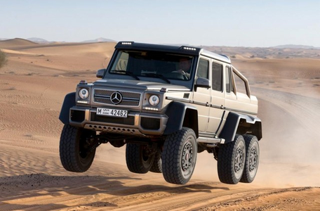 An Ursa Minor would drive a Mercedes-Benz G63 AMG 6x6. What would a manticore have?