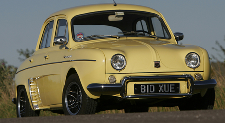 Gustav would drive a '57 Renault Dauphine. What would Doughnut Joe have?