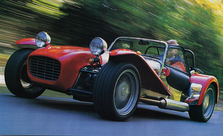 Featherweight would drive a Caterham Super 7. What would Roseluck have?