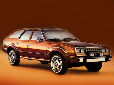 She would have a '84 AMC Eagle Sport Wagon. What would G3.5 قوس قزح Dash drive?