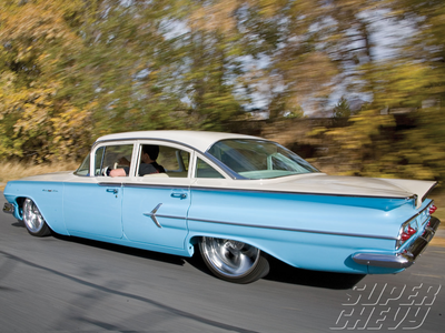 Colgate would have a '60 Chevy Bel Air. What would Sparkler have?