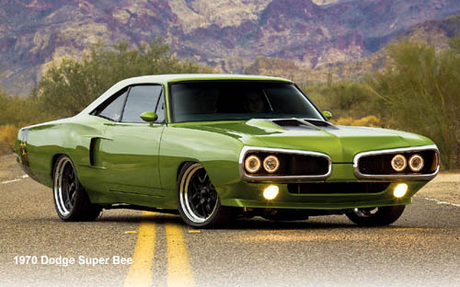 Glaze would drive a '70 Dodge Super Bee. What would The Living Tombstone have?