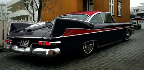 BlackGryphOn would drive a'59 Plymouth Fury. What would Mic the Microphone have?