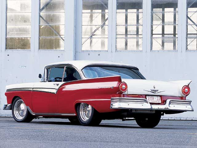 Neon would have a '57 Ford Fairlane. What would Smart Cookie have?
