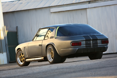 Silent Javelin would drive a '71 Jensen Interceptor. What would Bartholomew The Perfect drive?