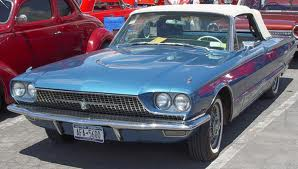 Thunderlane would drive a 1966 Ford Thunderbird. What would Hoops have?