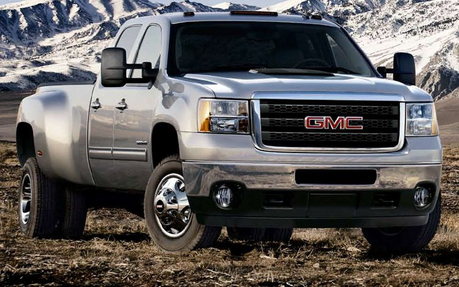 Hoops would drive a 2011 GMC Sierra. What would Snowflake (steroid pony) have?