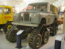 Snowflake would drive a 1958 Land Rover. What would Colgate have?