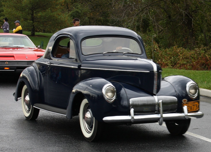 Equestria Girls Pinkie Pie would drive a 1942 Willys Americar, in pink. What would G3 Pinkie Pie have
