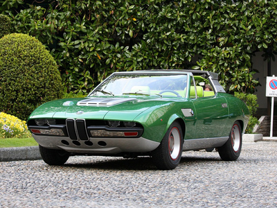 mwepesi, teleka Echo would drive a 1969 Bertone BMW 2800. What would Click-Clack have?