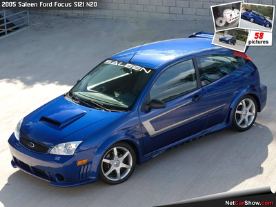 He would drive a 2005 Saleen Ford Focus. What would G1 Spike have?