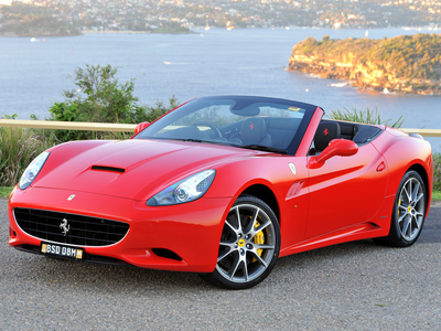 Cadence would drive a 2010 Ferrari California. What would Lyra have?