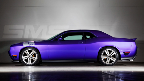 Bon-Bon would drive a 2011 Dodge Challenger. What would EG Rarity have?