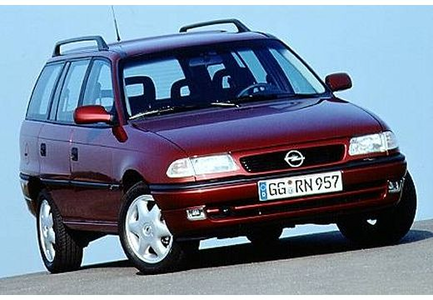 AJ would drive a '95 Opel Astra Caravan. A typical worker's car in Europe. What would Carrot bahagian, atas have
