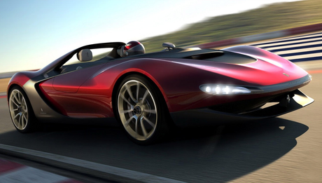 ceri, cherry Berry would drive a 2013 Pininfarina Sergio. What would Dinky Hooves have?