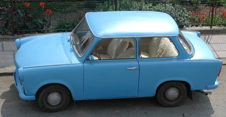 Nice! Flutters would drive a 1964 Trabant 601. What would Aloe drive?