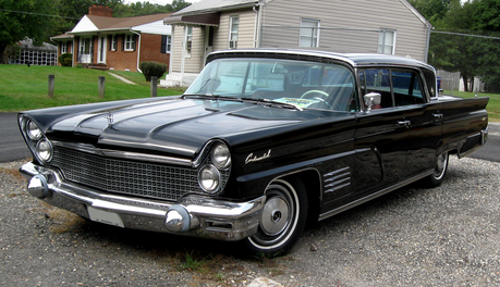 Flank Sinatra would drive a 1960 lincoln Continental. What would Fiddlesticks have?