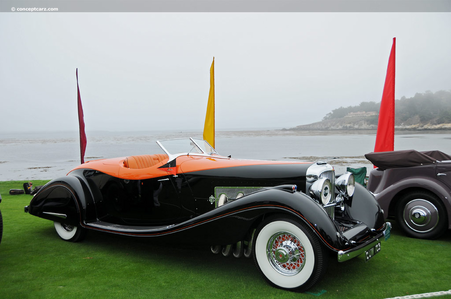Fleur De Lis would drive a 1935 Duesenberg J Sppedster. What would the Shadowbolts drive?
