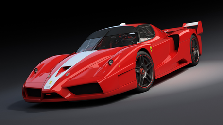 The Wonderbolts would drive Ferrari Enzo's. What would The CMC have?