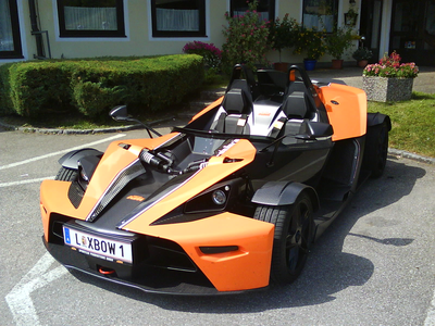 RD would drive a KTM X-Bow. What would Surprise have?