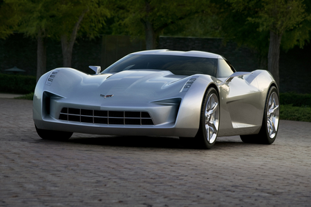 Discord would drive the 2009 Corvette ikan pari, pari Concept. What would Noteworthy have?