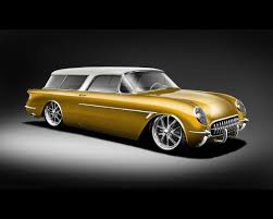Short Round would drive a custom 1954 Chevrolet Corvette. What would Mr. Greenhooves have?