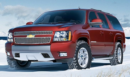 Short Round would drive a 2012 Chevy Suburban. What would Picture Perfect have?