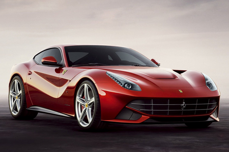 Silverspoon would drive a Ferrari F12 Berlinetta. What would Featherweight have?