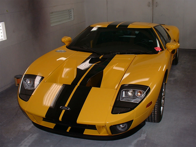 Spitfire would have a Ford GT. What would Thunderlane have?