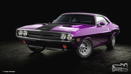 Amethyst 별, 스타 would drive a '71 Dodge Challenger. What would Meadow Song have?