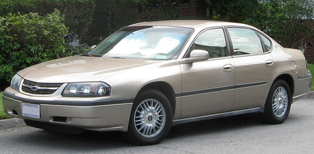봉봉, bonbon would drive a 2004 Chevrolet Impala. What would Cloudchaser have?