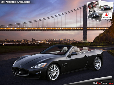 Cloudchaser would drive a 2011 Maserati Grancabrio. What would Screwball have?