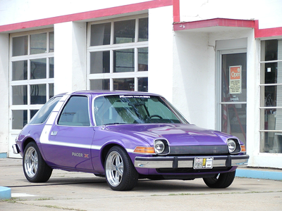Filly Twilight would drive a 1974 AMC Pacer X. What would filly Fluttershy have?