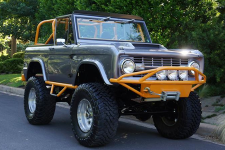 Big Mac would drive a 1971 Ford Bronco. What would Curly Cobb have?