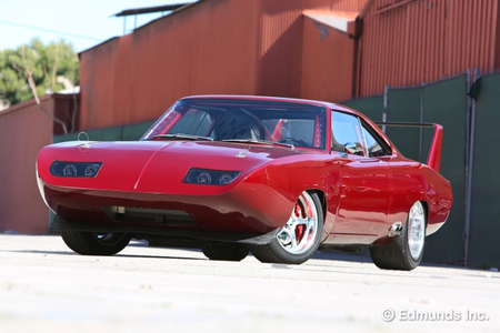 Mirage would drive a 1969 Dodge Daytona. What would Black Rose have?