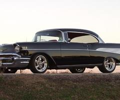 Black Rose would drive a 1957 Chevy. What would Summer Pride drive?