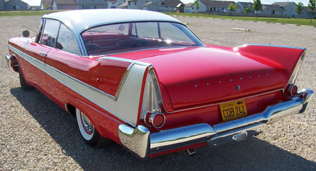 Well, good question... I think no one has ever asked that before... I believe the 1958 Plymouth Fury