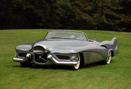 seresa Berry would drive a 1951 Buick LeSabre. What would Mane-iac have?